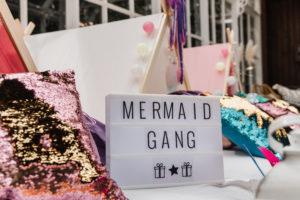 mermaid zeemeermin tentje kleur magie verjaardagsfeest origineel kinderfeest Gent