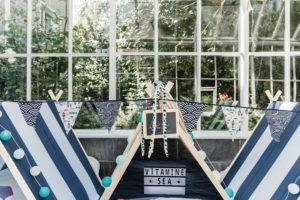 zee kust maritiem tent verjaardag origineel kinderfeest slaapover Oost-Vlaanderen Gent